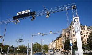 Pedágio urbano de Estocolmo, Suécia