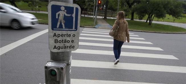 Pedestre, o que faz 40% do total das viagens/dia p