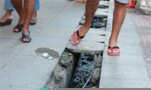 Pedestres correm riscos ao