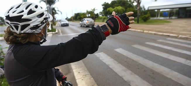 Pedestres e ciclistas: mais respeito e gentileza n