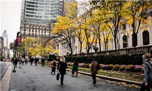 Pedestres em Nova Iorque, EUA