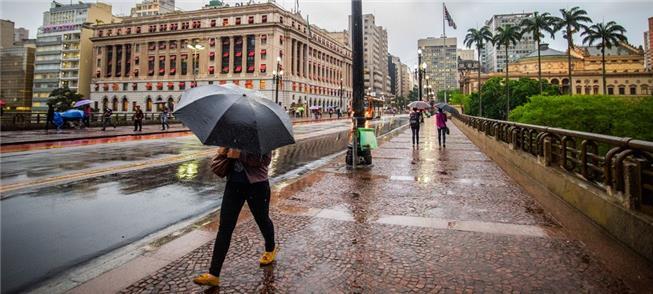 Pedestres em São Paulo