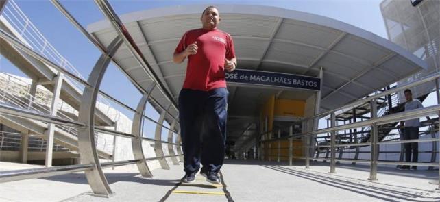 Personal trainer Márcio Cassaro: mais aulas no tem