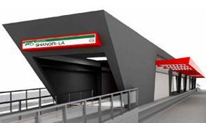 Perspectiva de estação do BRT - Londrina