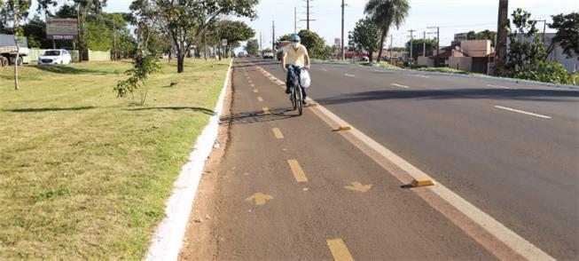Petição inclui ligar vias temporárias com ciclofai