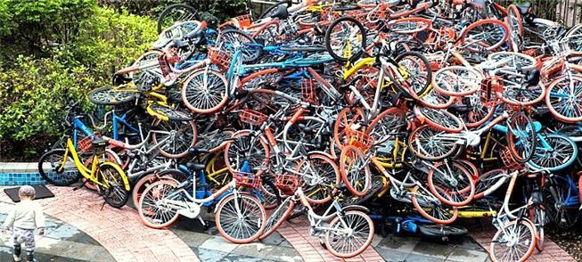 Pilhas de bicicletas e os problemas do projeto chi
