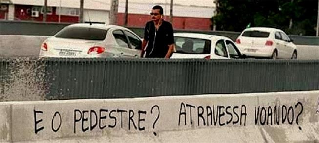 Plano de mobilidade de Recife prioriza pedestres.