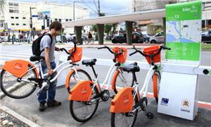 Plano é integrar transporte público e o Bike Santo