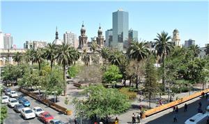 Plaza de Armas de Santiago, Chile