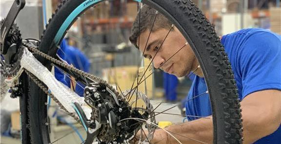 Polo de Manaus aumenta produção de bicicletas em 2