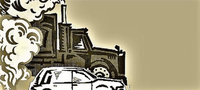 poluição gerada por veículos