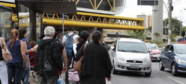 Pontos de ônibus: locais de maior concentração de