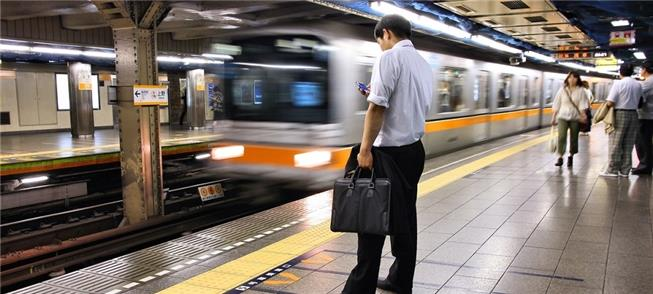 Pontualidade é a marca do sistema de trens no Japã