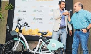 Prefeito Roberto Cláudio anuncia o Bicicletar Corp