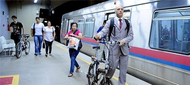 Programa visa à integração da bike com o transport