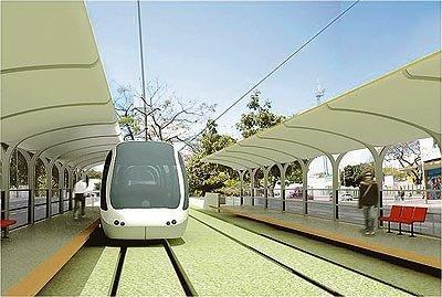 Projeção do que seria o VLT prometido para 2014 em