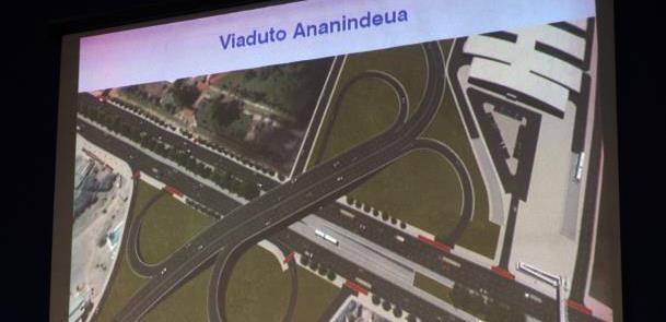 Projeto contempla também construção de viaduto