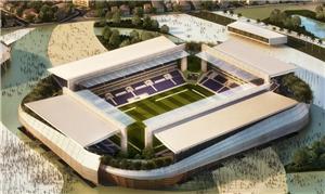 Projeto da Arena Pantanal