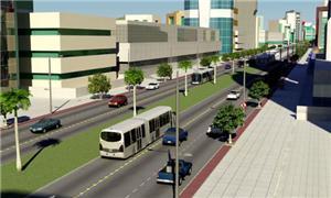 Projeto de BRT ligando Vitória a Cariacica, no ES
