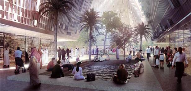 Projeto de uma cidade sem carros, nos Emirados Ára