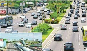 Projeto de VLT ligando o centro ao aeroporto