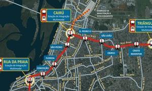 Projeto do metrô de Porto Alegre está em fase de a