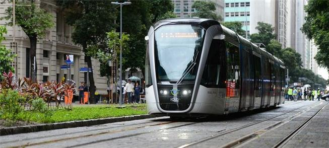 Projeto do VLT do Rio é um dos apoiados pelo Min.