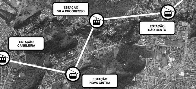 Projeto inclui viadutos, pontes e corredores de ôn