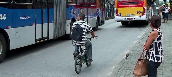 Projeto no Recife deixará ciclista largado à própr