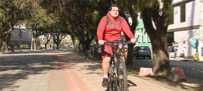 Proposta é bem-vinda, diz o ciclista Fabiano Pache