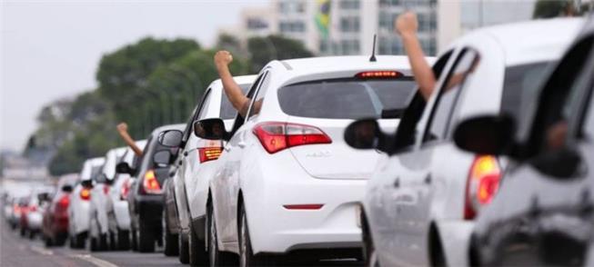 Protesto ocorreu em várias cidades do Brasil e do