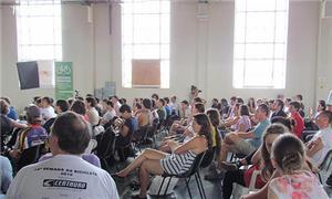 Público participou de palestras, oficinas e bicicl