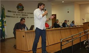 Rafael Denoti, coordenador de projetos