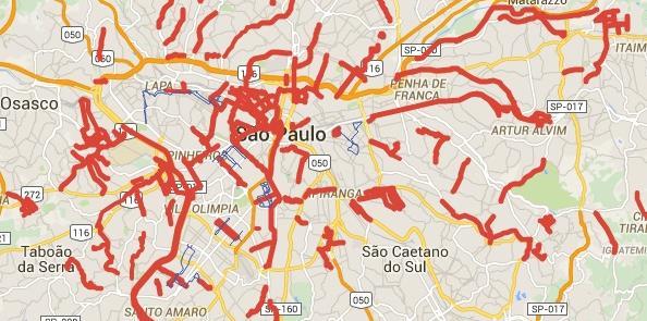 Rede cicloviária de São Paulo: meta de 420 km até