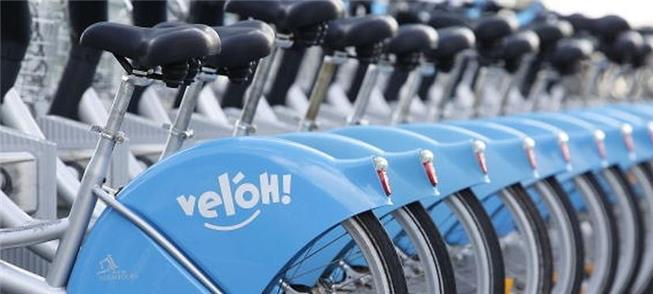 Rede 'Veloh' de bikes atende hoje a capital de Lux