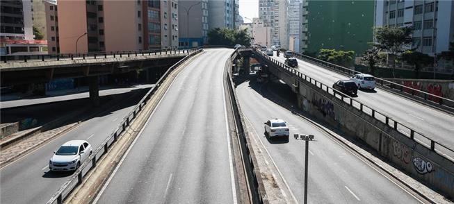 Redução do tráfego fez cair em 50% a poluição em S