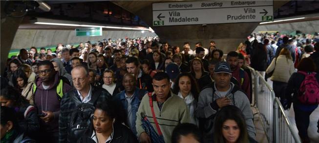 Região Metropolitana de SP tem 5,2 milhões de viag