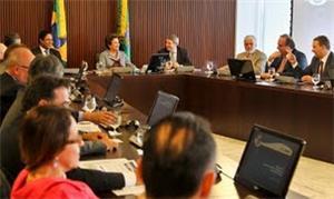Reunião com prefeitos das cidades-sede da Copa