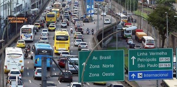 Rio de Janeiro, a cidade mais congestionada do paí