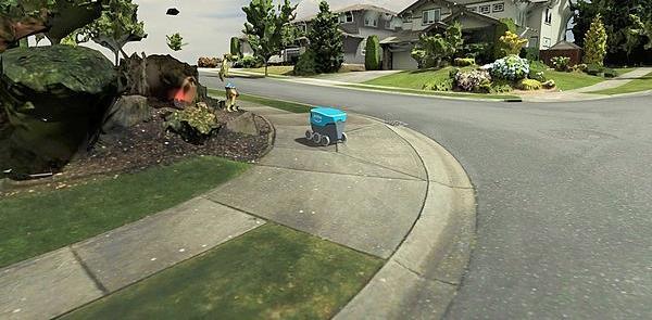 Robô virtual circula pelo clone de um bairro em Se