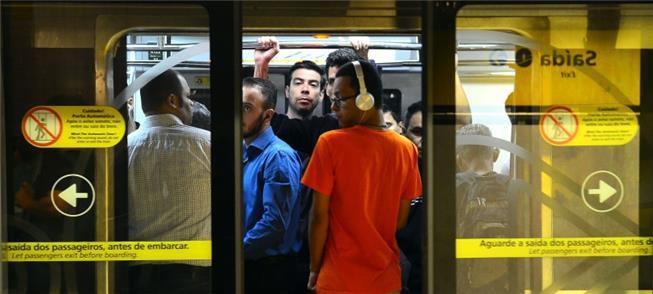 Roubos e falta de monitoramento nos trens do Metrô