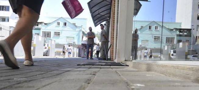 Rua Capitão Euclides de Castro, que vai virar calç