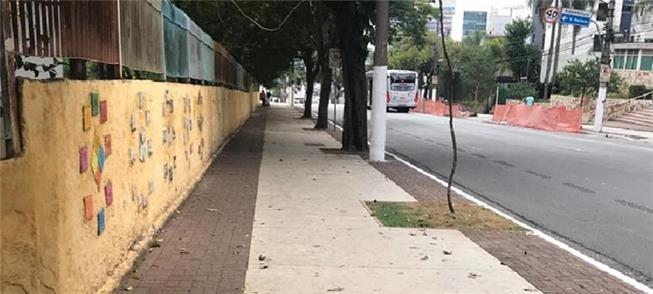 Rua Pedro de Toledo, Vila Mariana: padrão a obras