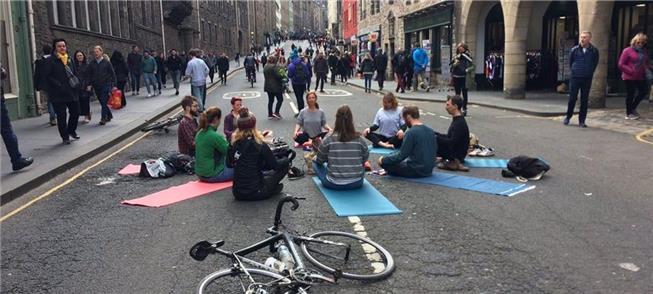 Rua Aberta: programa chega a Edimburgo, na Escócia