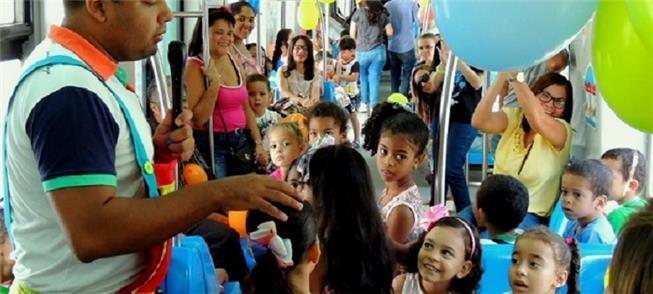 São aguardadas 1.500 crianças para os passeios de