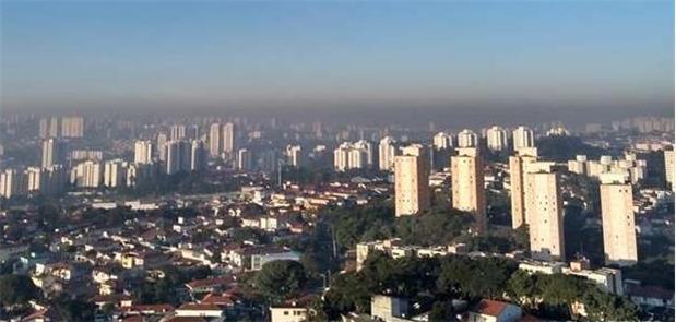 São Paulo: ar seco e poluído pelo excesso de carro