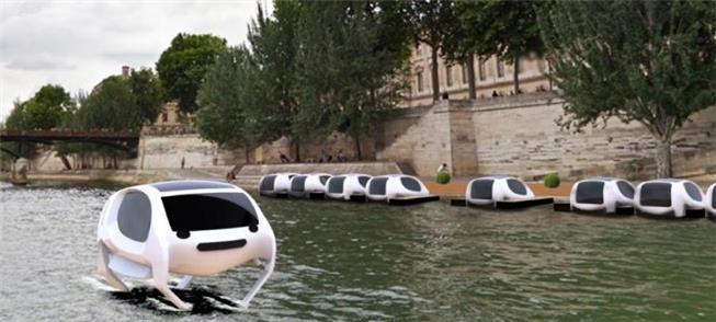 SeaBubbles navegarão nas águas do Sena no ano que