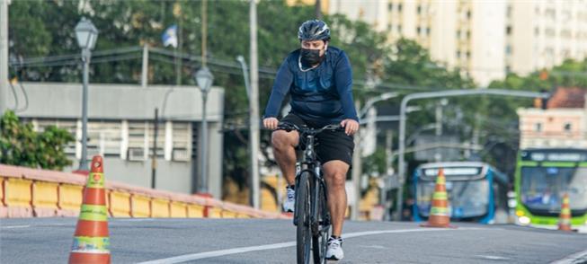 Semana da Mobilidade no Recife: proteção ao ciclis