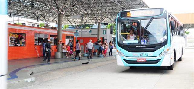 Sete terminais de ônibus de Fortaleza terão salas