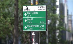 Sinalização de orientação a ciclistas: agora no Ce